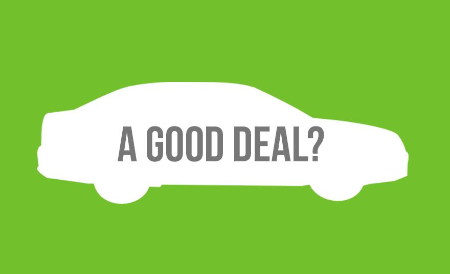 How do you get a good deal?