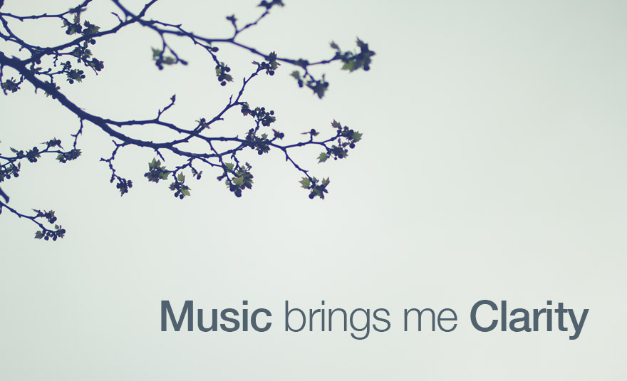 Music brings me Clarity + LHA Album Giveaway!